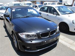 2013 BMW 1 Series 120i convertible