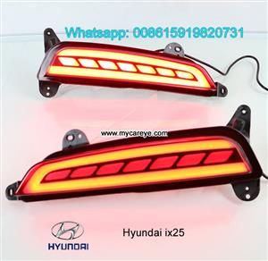 Hyundai ix25 LED Bumper lamps taillight brake Backup Lights