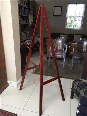 Stylish varnished Double sided Tall Artist's Easel