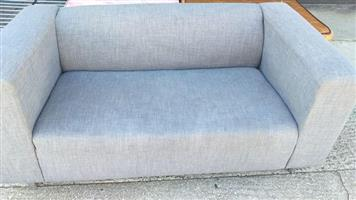 Nice grey 2 seater couch