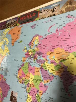 World wall map