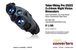 Yulon Viking Pro 25022 2×24mm Night Vision Binoculars