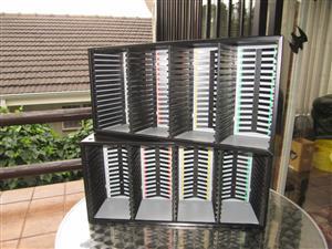 2 CD Racks for 120 CD's