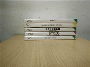 Nintendo Wii games  Please see titles on photos .