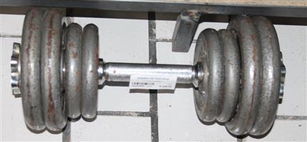 1x 15kg dumbell S032226A #Rosettenvillepawnshop