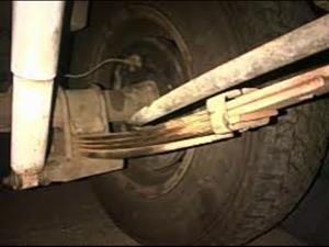 Isuzu spares. Leave springs dash and airbag.