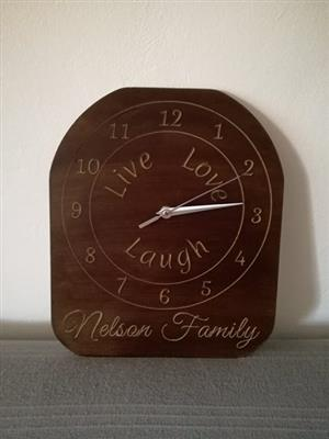 A TOUCH OF CREATION - WALL HANGING CLOCK