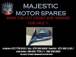 BMW F30 SIDE MIRROR FOR SALE !!