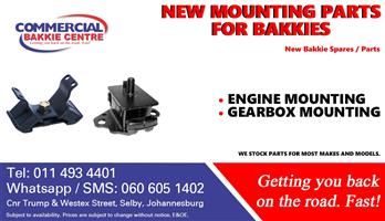 engine mountings new for bakkies