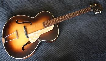 1950s Hofner Acoustic Guitar