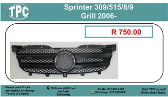 Sprinter 309/515/8/9 Grill 2006- For Sale.