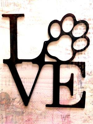 DOG LOVE SIGN