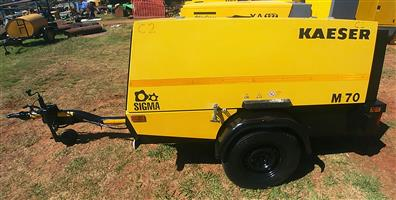 2013 Kaeser 250CFM Mobile Diesel Compressor - 1467hrs