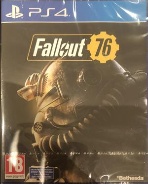 Sealed Fallout 76 on PS4