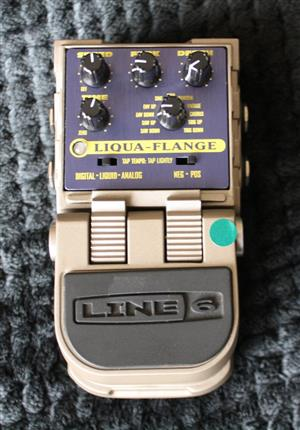 Line 6 Tone Core - Liqui-Flange Guitar Effects Pedal (Demo Stock in Box)