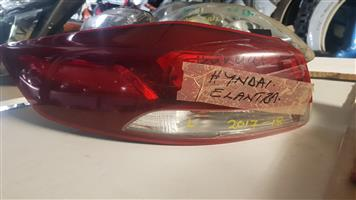 HYUNDAI ELANTRA 2017-18 TAILLIGHTS FOR SALE