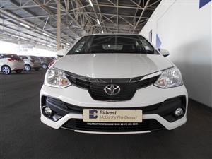 2019 Toyota Etios sedan ETIOS 1.5 Xs/SPRINT
