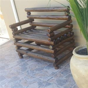 Solid wood outdoor furniture