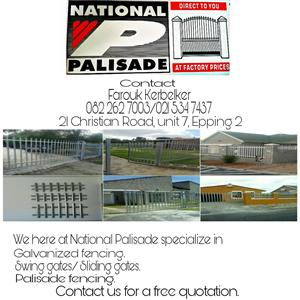 Palisade Fencing and Gates