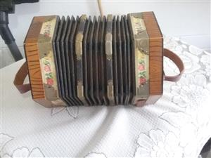 Boere Concertina made in Germany in good condition