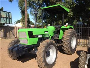 Green Deutz D7206 52kW/70Hp 4x4 Pre-Owned Tractor