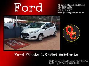 2015 Ford Fiesta 1.6i 5 door Ambiente