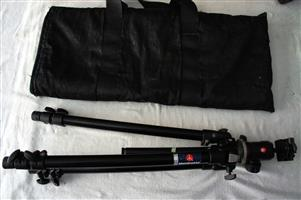 Manfrotto 190B Tripod with MH496-BH Head