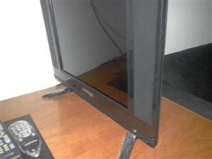 12inch Fusion HD Flat screen TV (almost new)