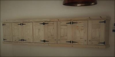 Kitchen Cupboard Wall unit Farmhouse series 4000 Raw