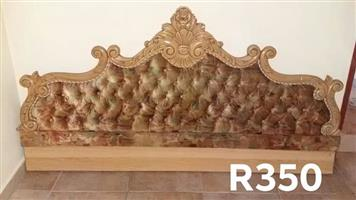 Vintage victorian headboard for sale