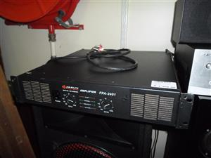 4 Channel JQS System FPA-2401 Amplifier