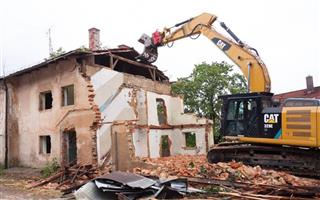 Rubble removal and demolition services /site clearing