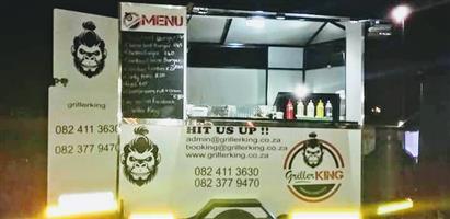 Mobile food trailer