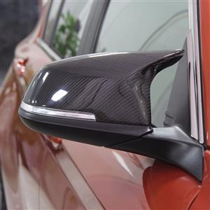 BMW M Style Mirror Covers (Series 1, 2, 3 & 4) - Carbon Fiber