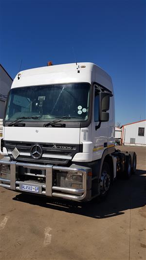 2007 Mercedes Benz Actros 2644 MP2 (6x4) Truck | Junk Mail