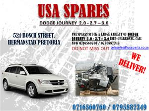 DODGE JOURNEY 2.7, 3.6 GEARBOXES