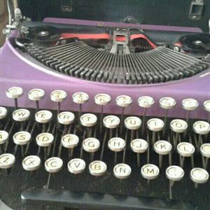 Remington No. 2 portable typewriter