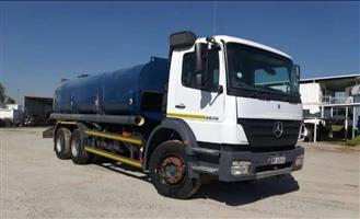 2006 Mercedes-Benz Axor 26.28 WATERBOWSER 16000L For Sale