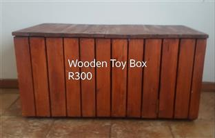 Wooden toy box for sale