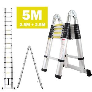 5M TELESCOPIC LADDER 2.5M + 2.5M