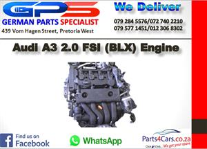 Audi A3 2.0 FSI (BLX) Engine for Sale