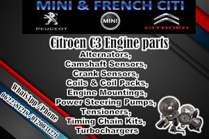 Engine parts for Citroen C3