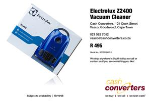 Electrolux Z2400 Vacuum Cleaner