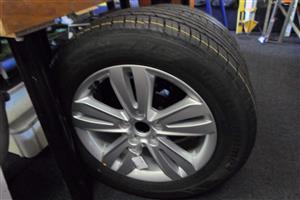 """17"""" Kia Sportage Tyre"""