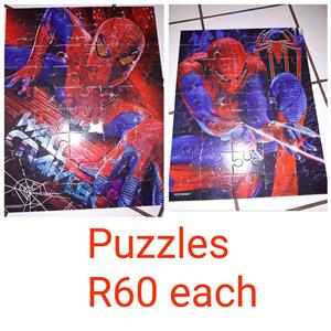 Spiderman puzzles for sale