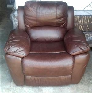 Houston Leather Recliner Chair