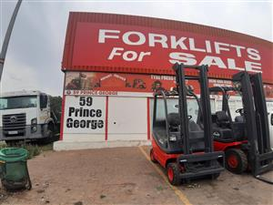 FORKLIFTS 1.6 UP TO 4 TON FOR SALE - LINDE