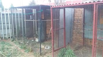 2x double Bird cages R1000 each neg