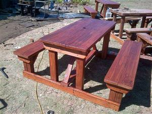 6 seater picnic benches for sale