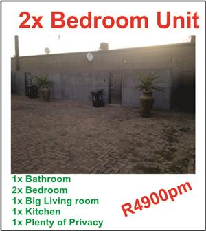 2x Bedroom big unit at bon accord dam area Pretoria